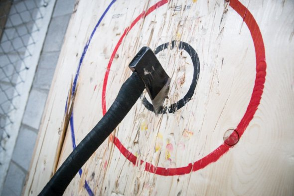 Learn to Throw Axes